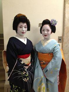 Maiko and Geiko of Pontocho