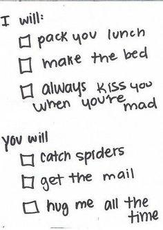 cute marital duties :)