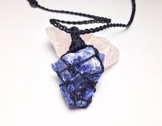 on pyrite day memorial lunabirdjewelry deals etsy crystals sodalite swarovski leather shop necklace shopping