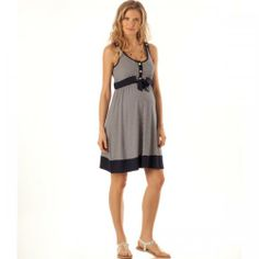 Robe de grossesse été 2012 : robe esprit marin, Séraphine