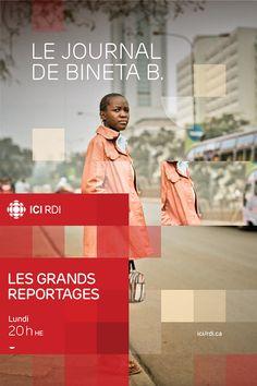 ICI Radio-Canada on Behance