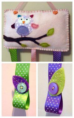 {Craft} DIY Felt Flowers | That Cute Little Cake: