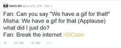 Misha breaks the internet :: Poor boys, they have no idea