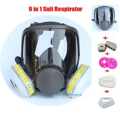 Independent 3m7502 Of Reusable Respirator Mask/ Gas Mask Portable Respirator Protective Fire Masks Keep You Fit All The Time Fire Respirators
