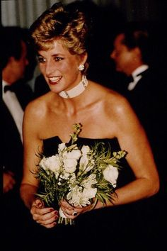 "October 19, 1992:  Princess Diana at the premiere of ""1492: Conquest of Paradise"" at the Odeon Leicester Square."
