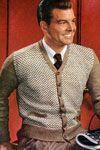 Dozens of free vintage men's knit sweater patterns