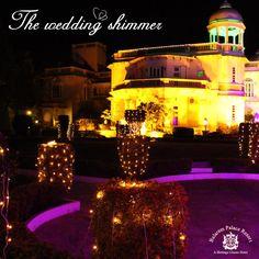 Make this shimmer a part of your #weddings too. Plan a grand, destination wedding at #BalaramPalaceResort.