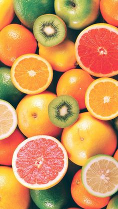 Tropical Fruits iPhone Wallpaper