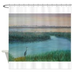 MATANZASRIVERMRNG Shower Curtain