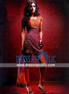 Orange Burgundy Cannes, Product code: DR2903, by www.dressrepublic.com - Keywords: High Fashion Boutiques Manhattan, NY, Bridal and Partywear Boutiques Manhattan, New York