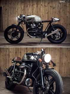 Warsaw-based photographer Mateusz Stankiewicz built this 1982 Honda CX500 with the help of a local garage, Eastern Spirit. It's one of the most arresting custom motorcycles of recent years, and the cover star of the 2014 Bike EXIF Custom Motorcycle Calendar. Get yours from https://www.octanepress.com/book/bike-exif-custom-motorcycle-calendar-2014