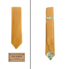 Fox & Brie (handcrafted neckties, bow ties and pocket squares)