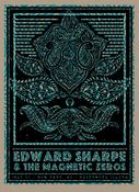 Edward Sharpe & The Magnetic Zeros Print by Status Serigraph