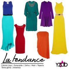 REPORTE #YZAB TENDENCIAS 2014 Colores: tonos joya Su riqueza y forma de aportar elegancia a cualquiera lo hacen uno de mis favoritos. Creo que le favorecen a todos los colores de piel de la misma forma. Además de llevarlos en tu ropa, ni dudes en aplicarlos a tus uñas. Inspírate con más tendencias para 2014 en www.yzab.com.ve #YZAB #ESTETICA #tendencias #EstilismoEspiritual