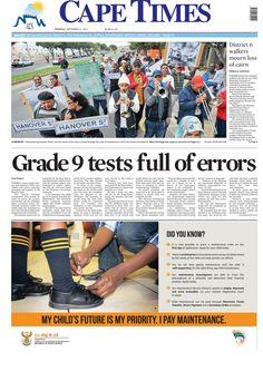 News making headlines: Grade 9 test full of errors