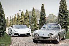 Lamborghini 400GT and Huracan. Tested them for CorsaItalia Magazine.