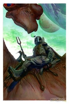 Star Wars - Boba Fett by Alex Ross *