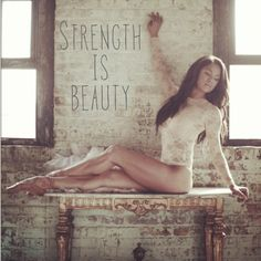 """Strength is Beauty"" Misty Copeland, America Ballet Theater, Ballerina."