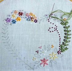 Embroidery Stitches Guide where Embroidery Stitches Lesson Plan. How To Do Brazilian Embroidery Stitches + Embroidery Hoop Large Embroidery Designs, Embroidery Patterns Free, Hand Embroidery Stitches, Embroidery For Beginners, Embroidery Hoop Art, Crewel Embroidery, Vintage Embroidery, Cross Stitch Embroidery, Eyebrow Embroidery