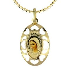 $138.99 14k Yellow Gold Men's Mother Mary Oval Picture Medal Amazon Curated Collection, http://www.amazon.com/dp/B005VG1PJ8/ref=cm_sw_r_pi_dp_7Wo-qb0N7A6BG