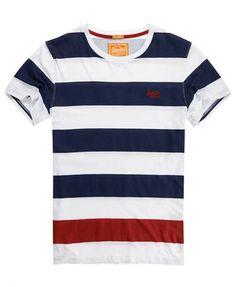 Superdry Lowbar T-shirt Navy Cool Shirts For Men, Mens Polo T Shirts, Mens Tees, Tee Shirts, T Shirts For Women, Sweat Shirt, Diesel Shirts, Mens Flannel, Summer Shirts