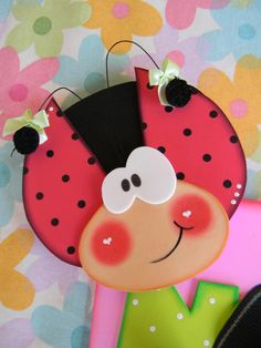 CrafteCafe Paper Piecing Girl Scrapbook Page Layout Baby Toddler Kids Crafts, Foam Crafts, Preschool Crafts, Diy And Crafts, Arts And Crafts, Paper Crafts, Animal Crafts, Lady Bug, Paper Piecing