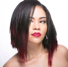 Hey, would you like to see the latest black women bob hairstyles? Here in this gallery you will see the Best Bob Hairstyles for Black Beauties, check these. Black Girl Bob Hairstyles, Weave Bob Hairstyles, Hair Lights, Hair Color And Cut, Hair Color Blue, Layered Bob Hairstyles, Haircut For Thick Hair, Short Hair With Layers, Brunette To Blonde