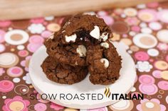 The Slow Roasted Italian: Death by Chocolate Cookie Bites