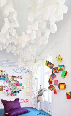 Taller de ideas proyectado por IADE para Canal Decasa en Casa Decor Madrid 2014.