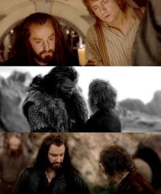 Thorin and Bilbo friendship:)