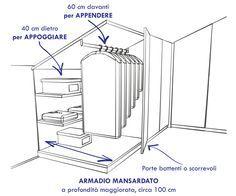 Armadi per Mansarde: Massimo Griggio realizza armadi per mansarde su misura. Prendete un appuntamento o contattateci per un preventivo!