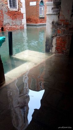 rio de le Becari Venise acqua alta