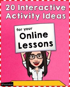 20 Interactive Activity Ideas for Online Lessons – Teachaboo Division Activities, Interactive Activities, Instructional Technology, Educational Technology, Teaching Technology, Educational Leadership, Online Classroom, Classroom Activities, School Closures