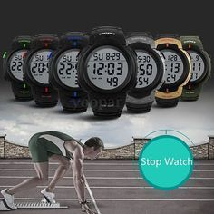 #Skmei men women digital light date #alarm waterproof lcd sports #watch u,  View more on the LINK: 	http://www.zeppy.io/product/gb/2/252307385156/