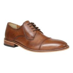 911eb301211 Dress up your look with the dapper Revenant Cap Toe Derby. Blind eyelets  and a