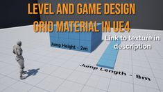 How to set up a grid for level and game design using world space. Perfect for level designers designing along a grid and game designers for setting up game a. Up Game, Game Design, Grid, Club, Texture, Games, Surface Finish, Gaming, Plays