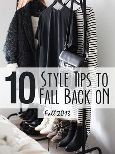 Style Tips for Fall 2013. I agree with all of these. I just bought a structured bag from Old Navy for less than $20 and I love it!