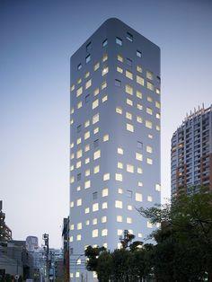 Jun Aoki - SIA Aoyama Building, Maebashi 2008. Photos (C) Daici Ono.