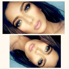 Pinterest @ kikilbc #bbBabe #beautybridge #makeup #mua #eyeshadow #lipstick #beauty beautybridge.com<3
