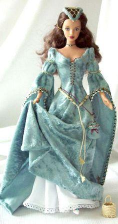 Renaissance Barbie ~ Debbie Orcutt ❤