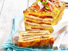 The Italian croque-cake recipe on video - Homemade Cake Recipes, Best Cake Recipes, Pound Cake Recipes, Homemade Sandwich Bread, Sandwich Bread Recipes, Whole 30 Dessert, Pizza Cake, Cake Recipes From Scratch, Köstliche Desserts