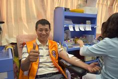 Yilan County #LionsClub (Republic of China) hosted a blood drive