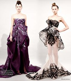 Fantasy Wedding Dresses by Marchesa for Spring Summer 2011