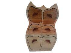 Gama SECRETOS madera pino gallego BUHO 6 CAJONES