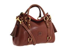 Dooney & Bourke Florentine Small Satchel Natural/Natural Trim - Zappos.com Free Shipping BOTH Ways