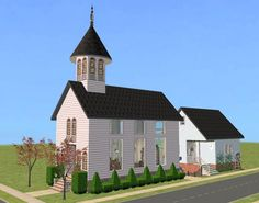 http://twoflowerslots.blogspot.com/2009/02/apple-grove-wedding-chapel.html#more