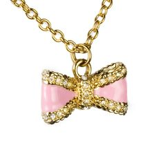 Disney Couture Bow Necklace