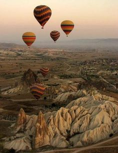 Hot air balloon rides in Cappadocia, Turkey Oh The Places You'll Go, Places To Travel, Places To Visit, Air Balloon Rides, Hot Air Balloon, Air Ballon, Beautiful World, Beautiful Places, Foto Picture