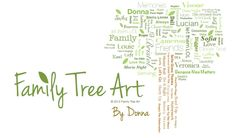 Family Tree Art by Donna — Designs