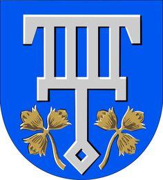 Coat of Arms of Lohja, Finland Canvas Art Prints, Canvas Wall Art, Framed Prints, Coat Of Arms, Art Boards, Decorative Throw Pillows, Nostalgia, Stationery, Logo Design